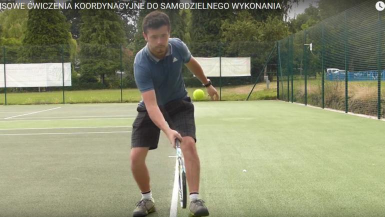 Tenisowe ćwiczenia koordynacyjne – zrób to sam