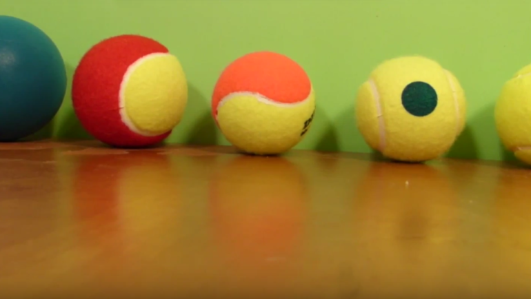 Rodzaje piłek do gry w tenisa